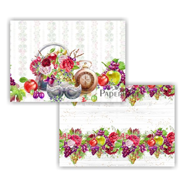 Papericious - Decoupage Papers - Grape Yard - A4 size