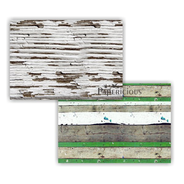 Papericious - Decoupage Papers - Shellbark Hickory - A4 size