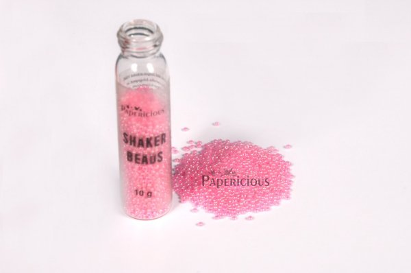 Papericious - Shaker Beads  - Baby Pink