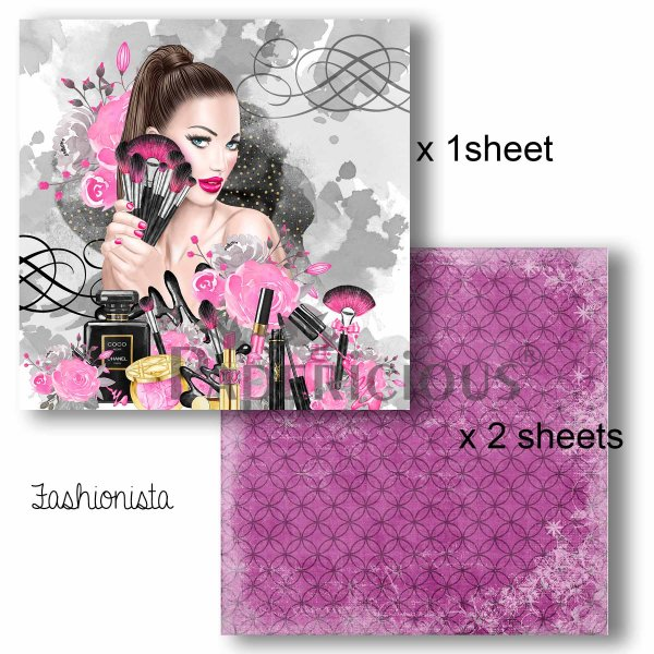 Papericious - Decoupage Papers - Fashionista