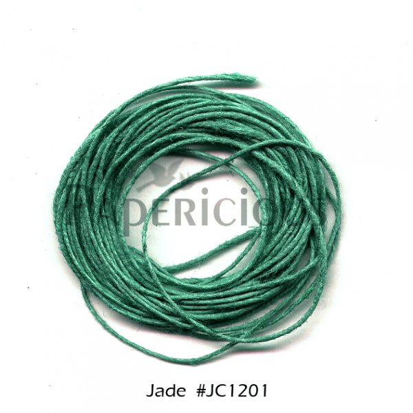 PAPERICIOUS - Jade Jute Cord - 1.2mm thick of 5 yards