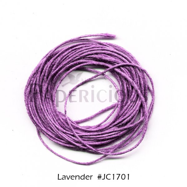 PAPERICIOUS - Lavender Jute Cord - 1.2mm thick of 5 yards