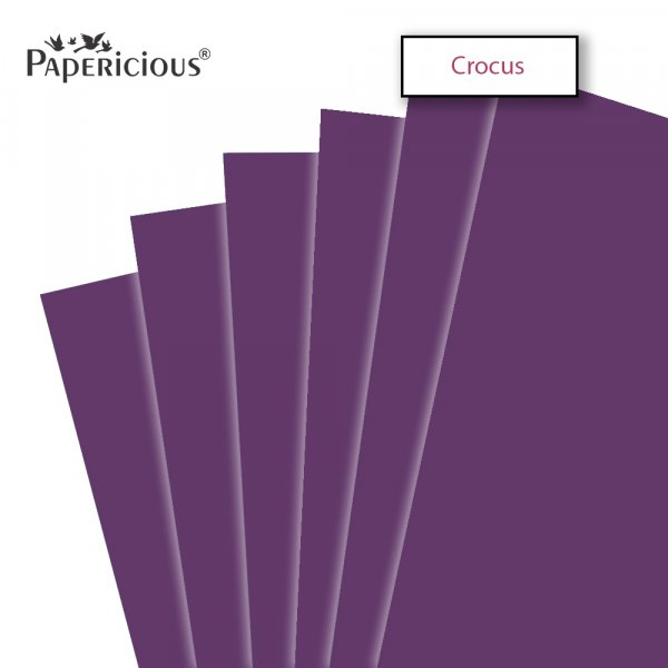 PAPERICIOUS - Crocus - 250GSM Colored Cardstock 12x12 inch / 10 Sheets