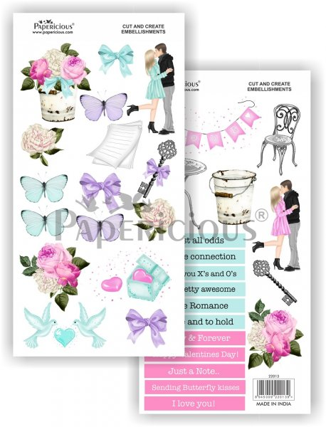 Papericious - Me Before You -  Cut & Create Embellishments 6x12inch