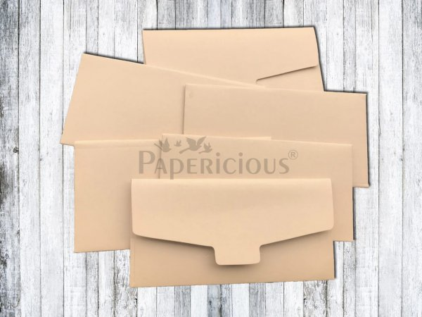 Papericious - Peach Plum - Cash Envelope 6 Pcs