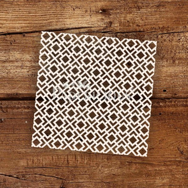 Scalable - 6x6 Inch Laser Cut Pattern Chipboard (1.4mm)