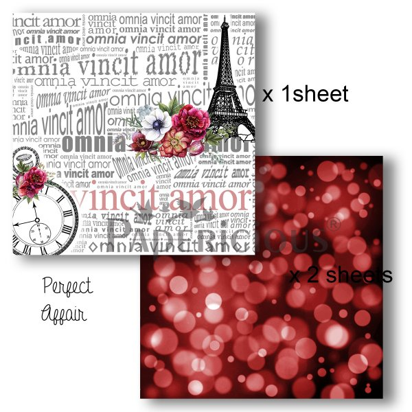 Papericious - Decoupage Papers - Perfect Affair