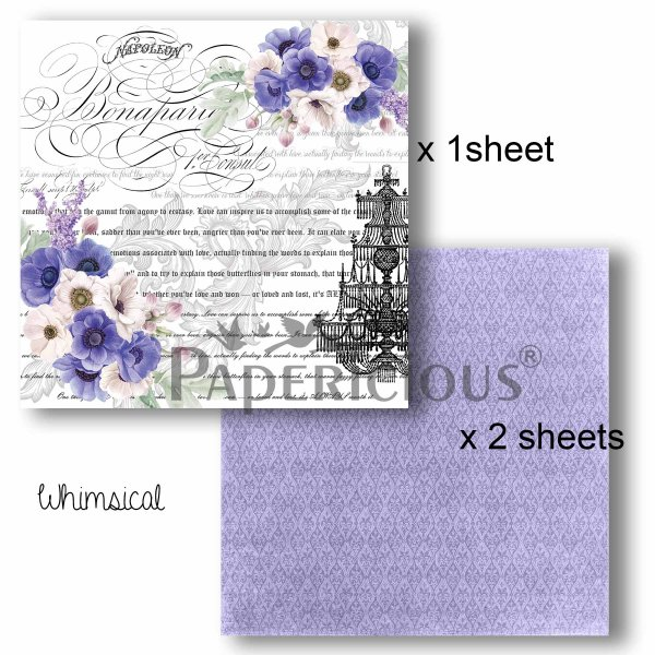 Papericious - Decoupage Papers - Whimsical